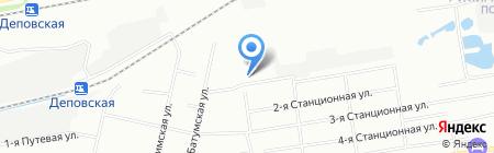Московка-1 на карте Омска