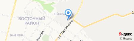 Ивановский Текстиль на карте Сургута