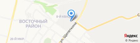 Мир автозапчастей на карте Сургута