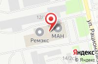 Схема проезда до компании Спецремсервис в Сургуте