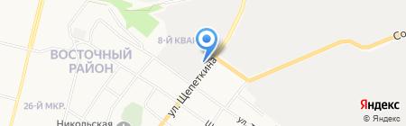 Иванушка на карте Сургута