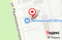 Схема проезда до компании Емелюшка в Сургуте