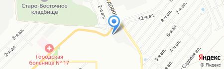 ДопАвто+ на карте Омска