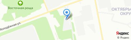 Ариэль Пласткомплект на карте Омска