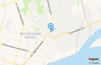 Местоположение на карте пункта техосмотра по адресу Ханты-Мансийский Автономный округ - Югра АО, г Сургут, ул Щепеткина, д 50/2