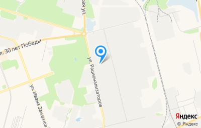 Местоположение на карте пункта техосмотра по адресу Ханты-Мансийский Автономный округ - Югра АО, г Сургут, ул Рационализаторов, д 13 соор 4