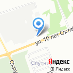 Вся упаковка на карте Омска