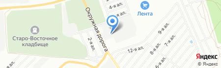 ПЭК на карте Омска