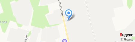 Хозтовары на карте Сургута