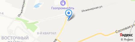 Масленка на карте Сургута