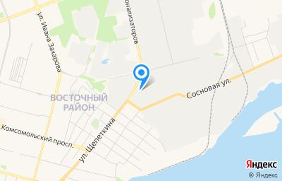 Местоположение на карте пункта техосмотра по адресу Ханты-Мансийский Автономный округ - Югра АО, г Сургут, ул Декабристов, д 50/2