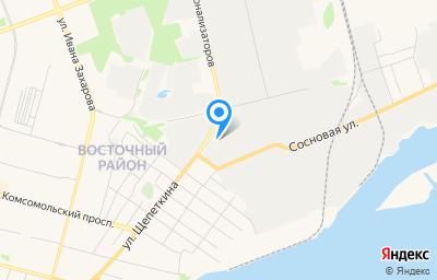 Местоположение на карте пункта техосмотра по адресу Ханты-Мансийский Автономный округ - Югра АО, г Сургут, ул Щепеткина, зд 50/2