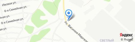 Араз на карте Омска