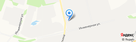 Авто Прогресс на карте Сургута