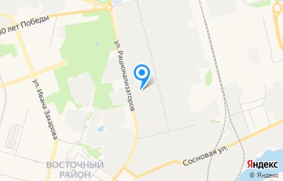 Местоположение на карте пункта техосмотра по адресу Ханты-Мансийский Автономный округ - Югра АО, г Сургут, ул Рационализаторов, д 17 соор 4