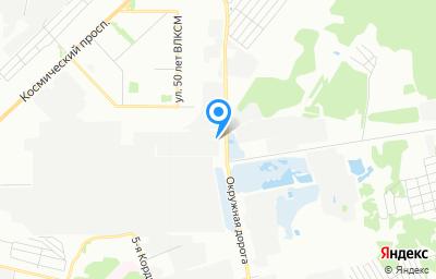 Местоположение на карте пункта техосмотра по адресу г Омск, ул 75 Гвардейской бригады, д 10Д