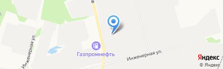 ВиП на карте Сургута