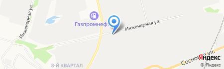 Шашлычная на Инженерной на карте Сургута