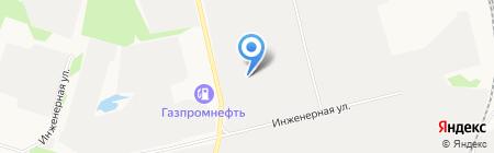 Промэлектроснабжение на карте Сургута