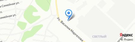 Средняя общеобразовательная школа №148 на карте Омска