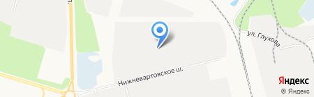 Мебель без границ на карте Сургута