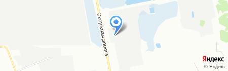 Гарант-Пласт на карте Омска
