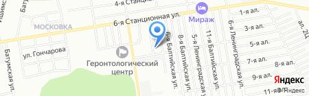Детский сад №253 на карте Омска