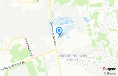Местоположение на карте пункта техосмотра по адресу г Омск, ул 3-я Молодежная, д 81А