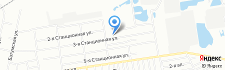 Средняя общеобразовательная школа №104 на карте Омска