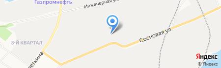 ЮграПодшипник на карте Сургута