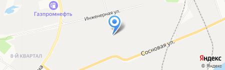МясТорг на карте Сургута