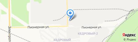 ПрофЛидер на карте Сургута