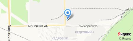Сфера АНО на карте Сургута