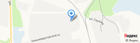 СоюзПроектСтрой на карте Сургута