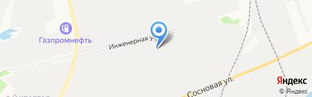 Три звезды на карте Сургута