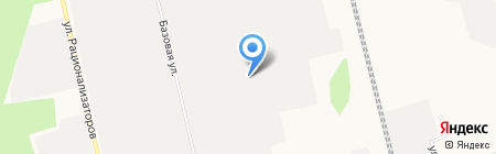 АвтоСТОп на карте Сургута