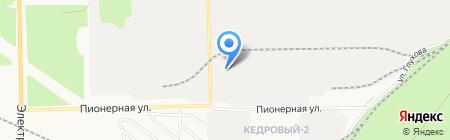 СВ-Трейд на карте Сургута