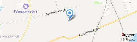 Авто-элит на карте Сургута