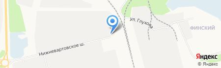 Корсар на карте Сургута
