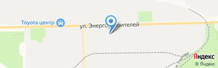 Автотехцентр VOLVO на карте Сургута
