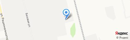Депо на карте Сургута