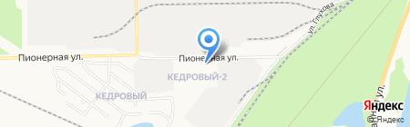 ActualMob на карте Сургута