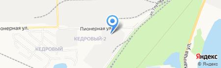 Декларация на карте Сургута