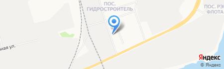 Алвест на карте Сургута