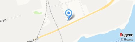 У дороги на карте Сургута