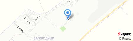 Загородный на карте Омска