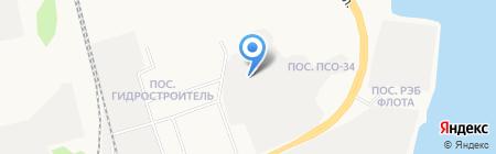 ДорФлот на карте Сургута