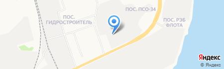 СиБур-СТ на карте Сургута