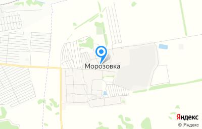 Местоположение на карте пункта техосмотра по адресу Омская обл, Омский р-н, с Морозовка, ул Птицеводов, д 1
