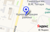 Схема проезда до компании МАГАЗИН ПРОДУКТЫ в Павлоградке